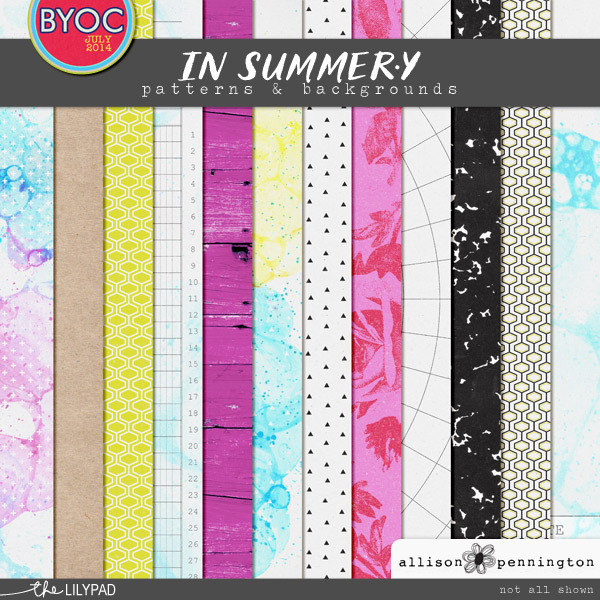 In Summer.y Patterns & Backgrounds