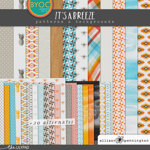 It's a Breeze: Patterns & Backgrounds