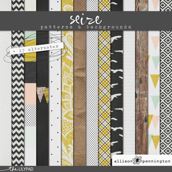 Seize: Patterns & Backgrounds