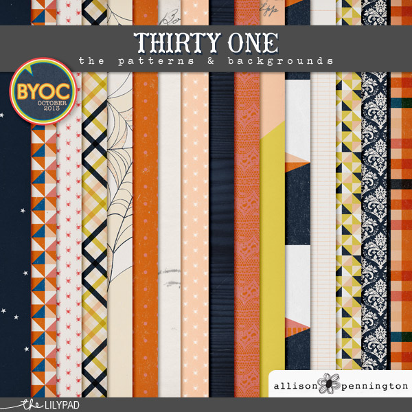 Thirty One: Patterns & Backgrounds