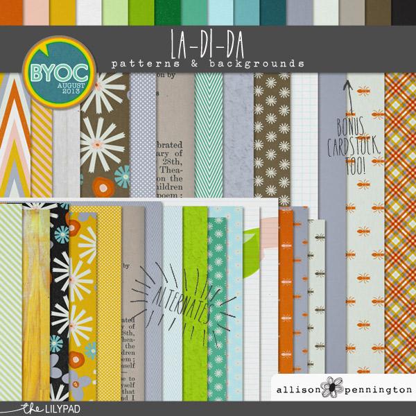 La Di Da: Patterns & Backgrounds
