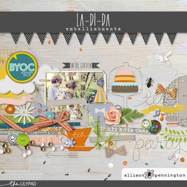 La Di Da: Embellishments