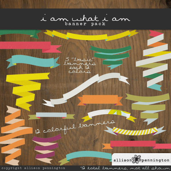 i am what i am: Banners