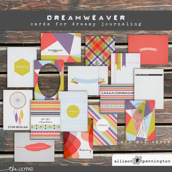 Dreamweaver: Journaling Cards