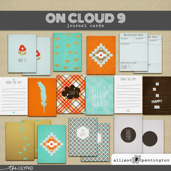 On Cloud 9: the Journal Cards