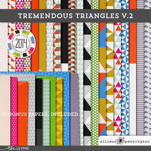 Tremendous Triangles v.2