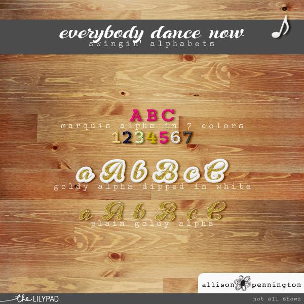 Everybody Dance Now: Alphabets