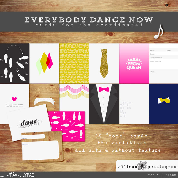 Everybody Dance Now: Journal Cards