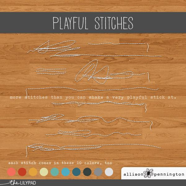 Playful Stitches