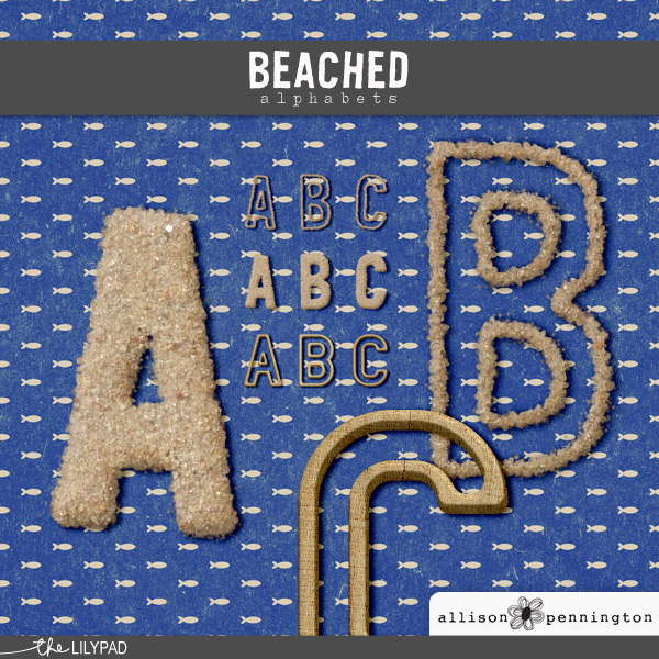 Beached: Alphabets