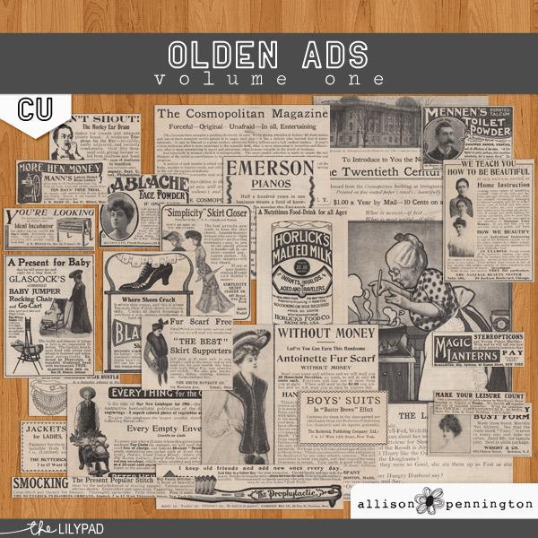 CU Olden Ads v.1