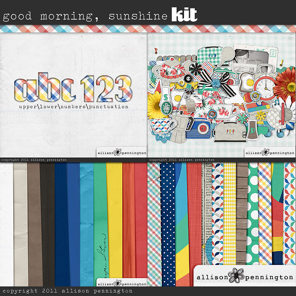 Good Morning Sunshine: The Kit Bundle