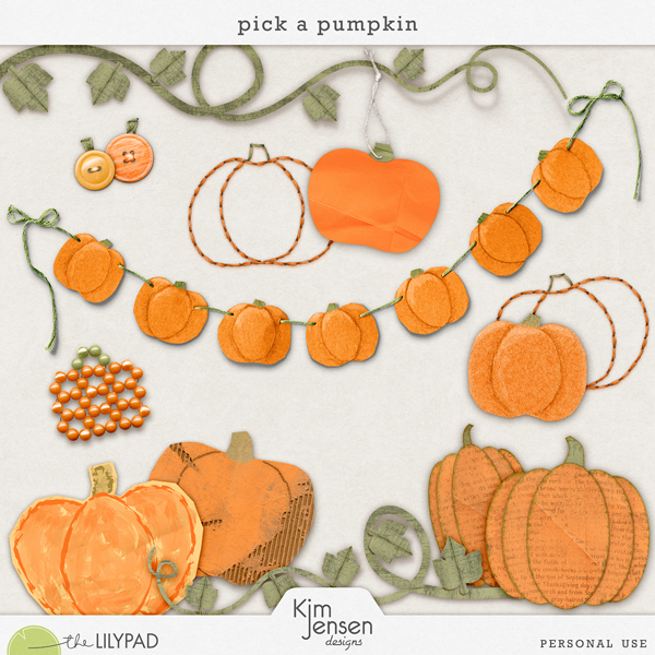 pick a pumpkin by kim jensen