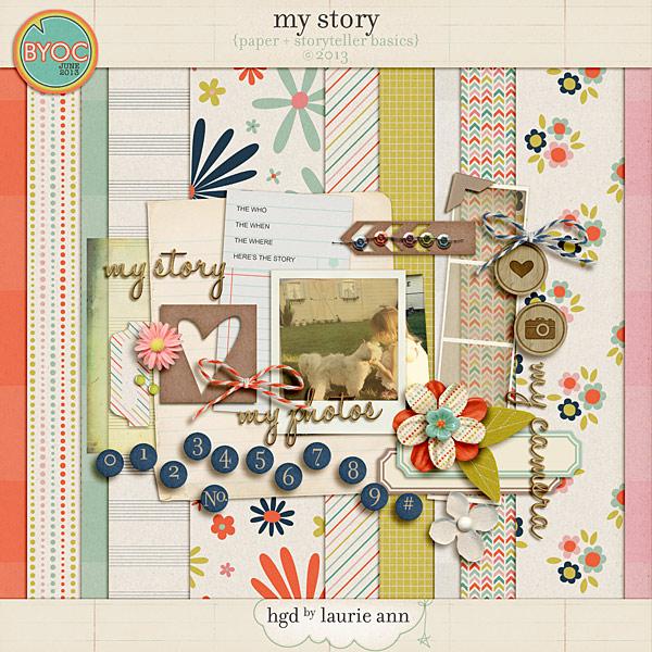 My Story {paper & storyteller basics}