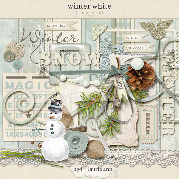 Winter White by Laurie Ann {complete kit}