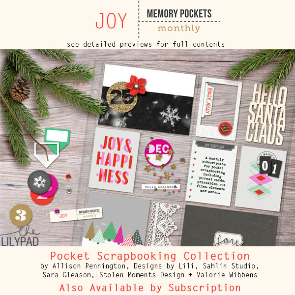 Memory Pockets Monthly: JOY