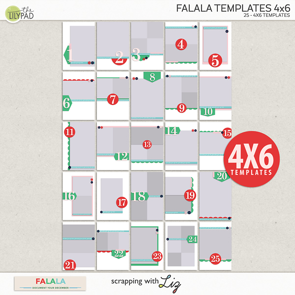 4x6 template