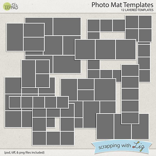 It's just a graphic of Stupendous Printable Photo Mat Templates