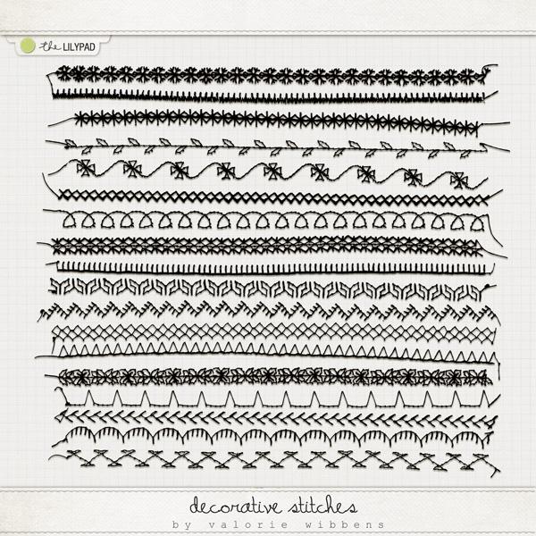 Home Element Packs Stitches Decorative Stitches Decorative Stitches