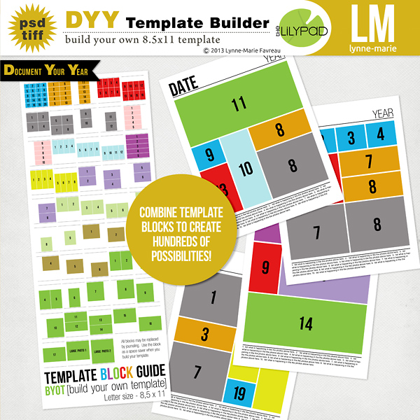 DYY Template Builder 8.5x11