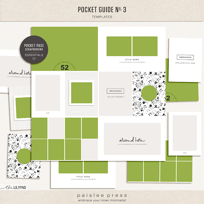 Pocket Guide Template from the-lilypad.com