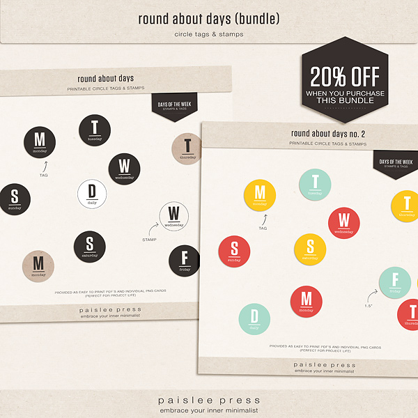round about days (bundle)