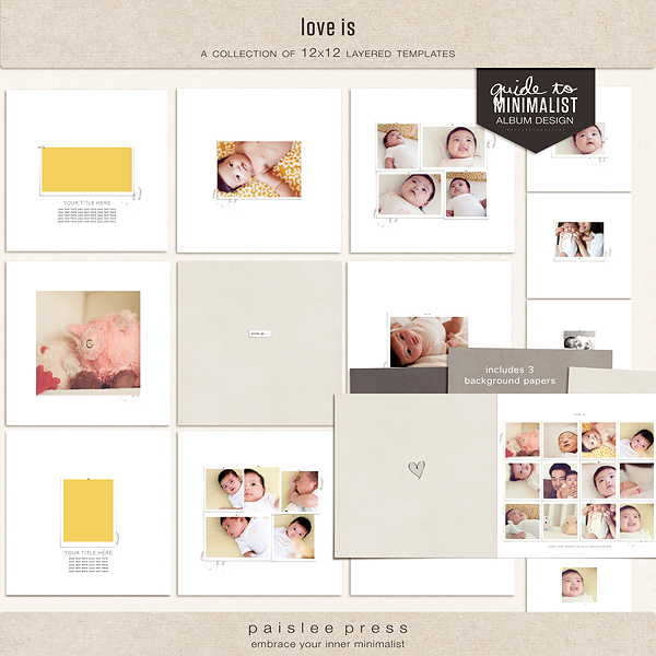 Digital Scrapbooking Templates – Template for Photo Album