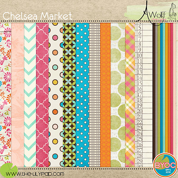 Chelsea Market Paper Pack