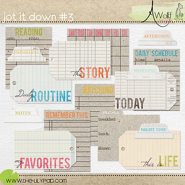 Jot It Down #3