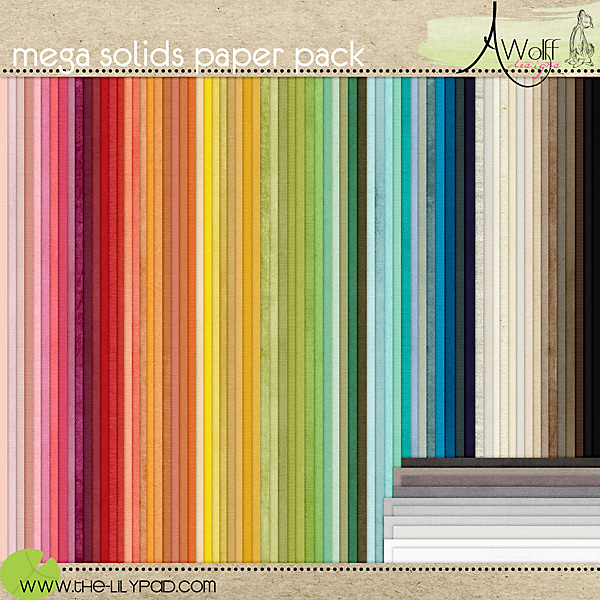 mega solids paper pack