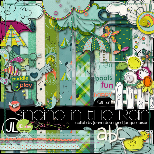 Singing in the Rain collab by Jenna and Jacque