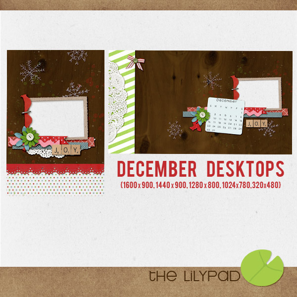 December Desktops