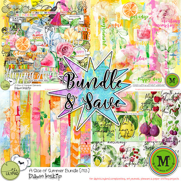 A Slice of Summer Bundle {M3 July 17}