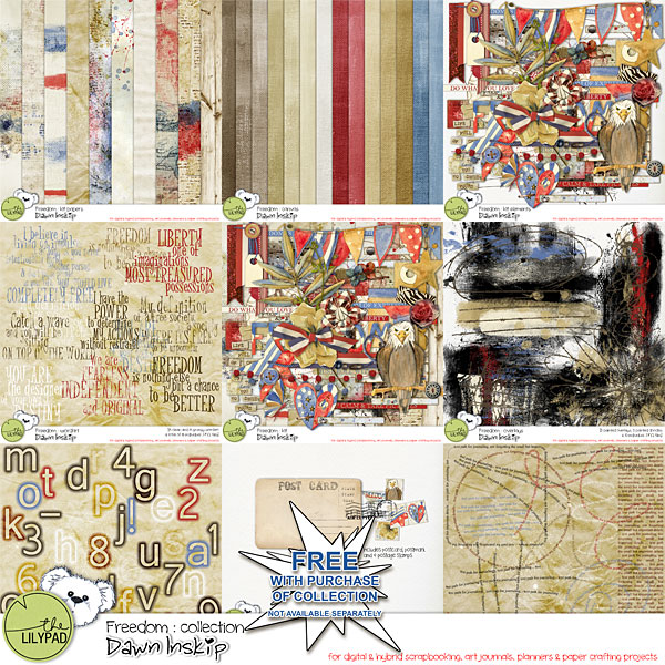 Freedom Collection (incl FWP Journey to Freedom Pack)
