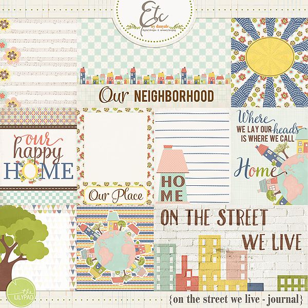 On the Street We Live Journal Cards