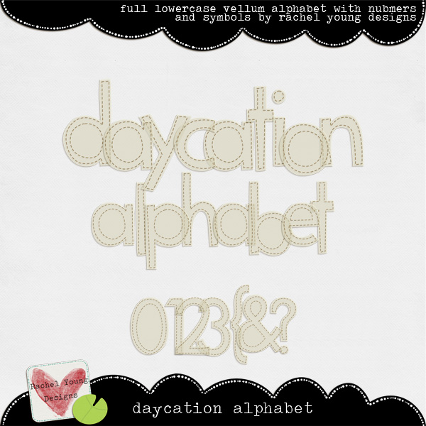Daycation Alphabet