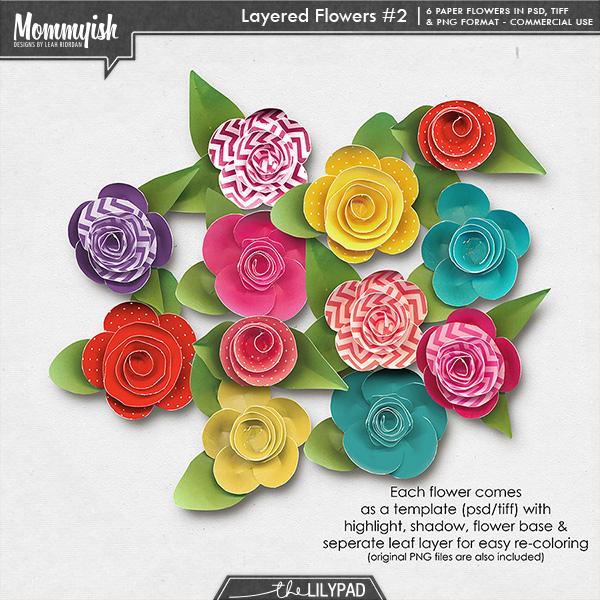 CU Layered Flowers 2