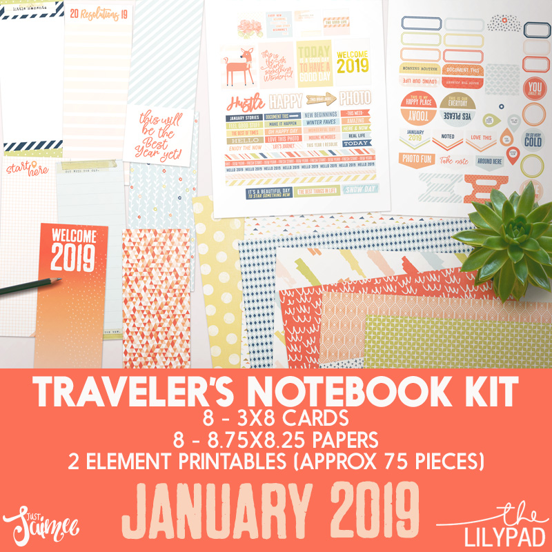 graphic regarding Notebook Printable identified as Storyteller 2019 January - Tourists Laptop computer Printable Package