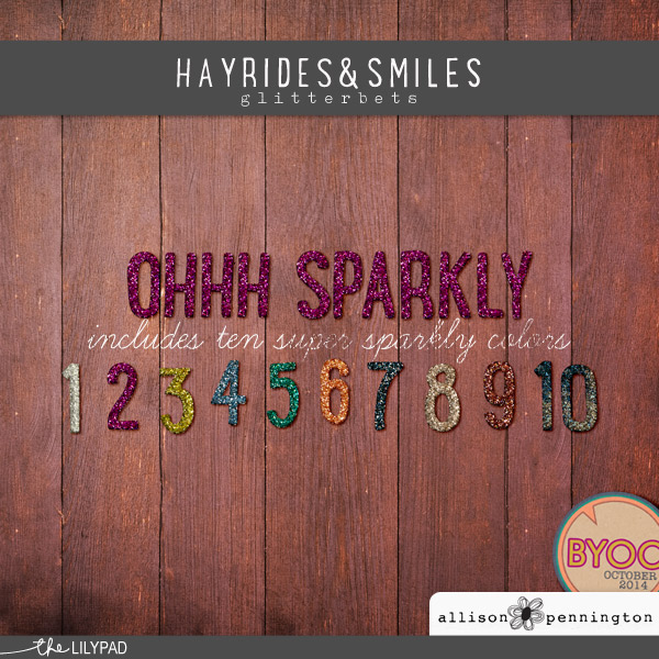 Hayrides & Smiles: Glitterbets