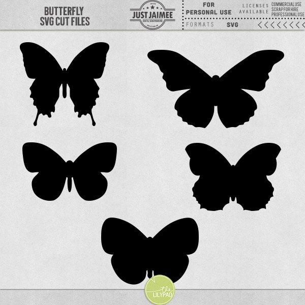 butterfly svg cutting files by just jaimee