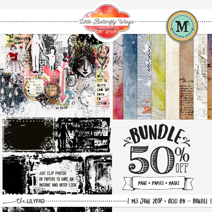 June Mixed Media Monthly is here!