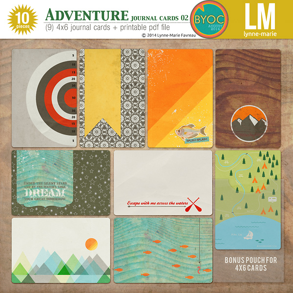 Adventure - journal cards 02