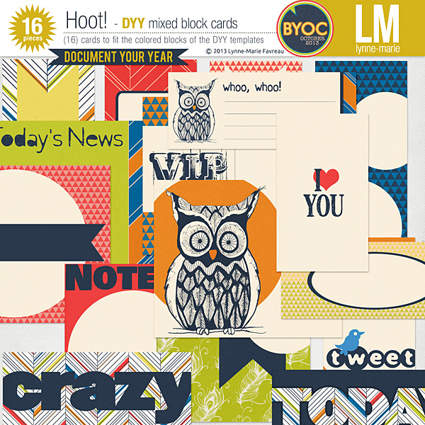 Hoot! mixed DYY cards