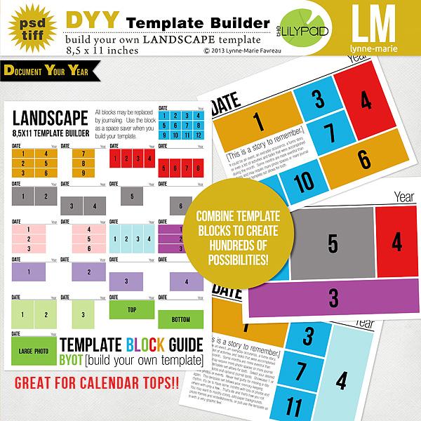 DYY Template Builder LANDSCAPE