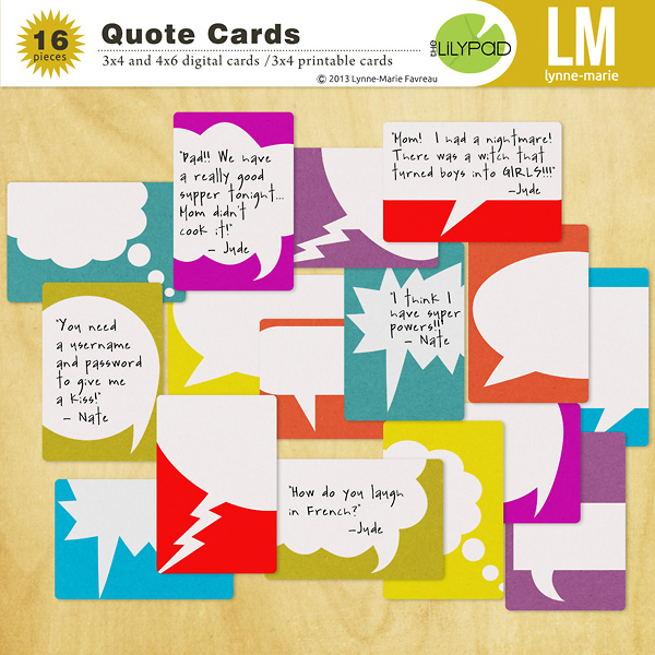 Quote Cards Mesmerizing The Lilypad Journal Cards Quote Cards