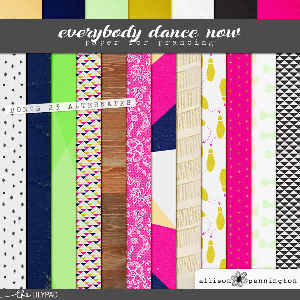 Everybody Dance Now: Patterns & Backgrounds