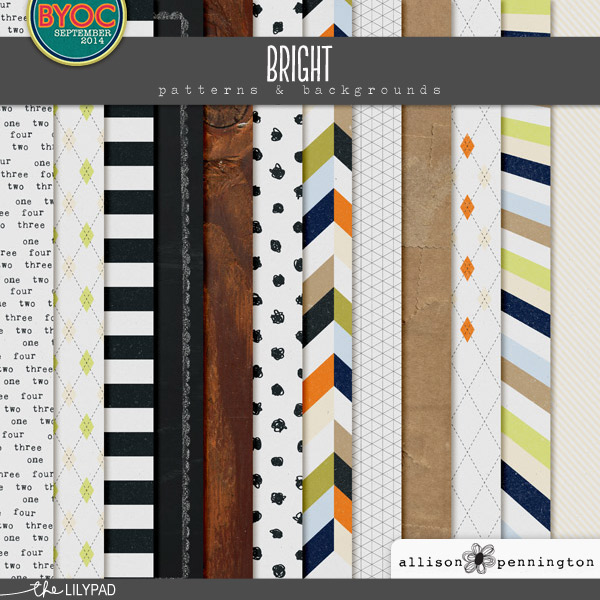 Bright: Patterns & Backgrounds