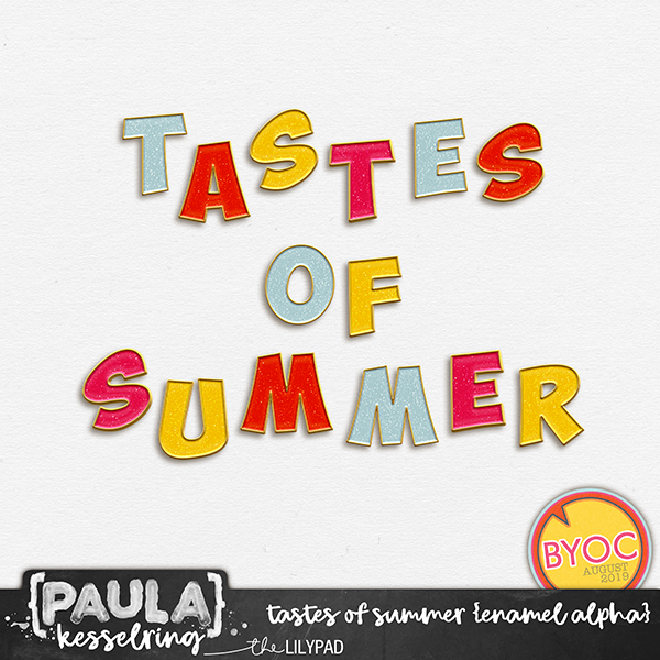 Tastes of Summer - Enamel Alpha