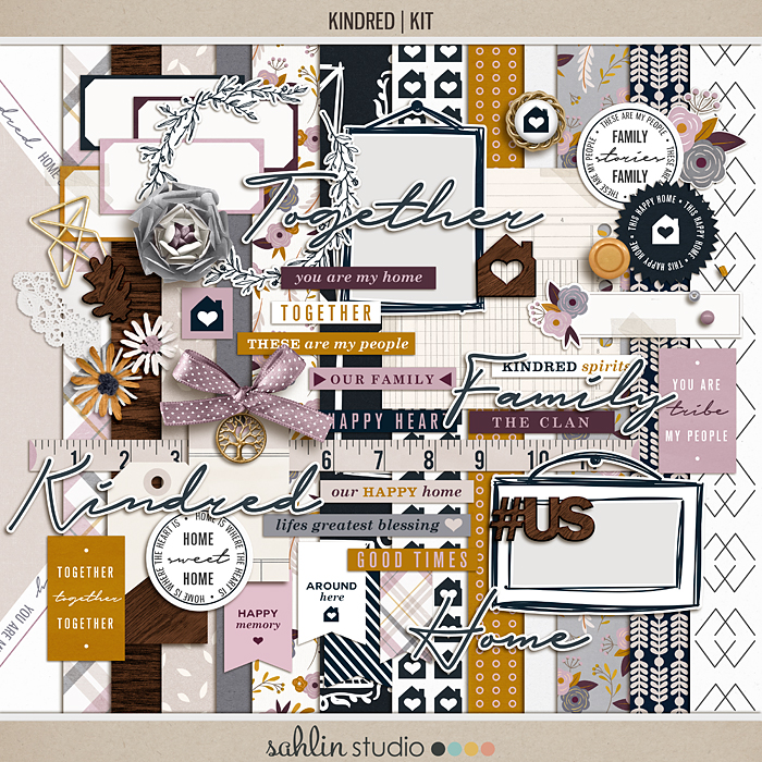 Kindred Scrapbooking Kit