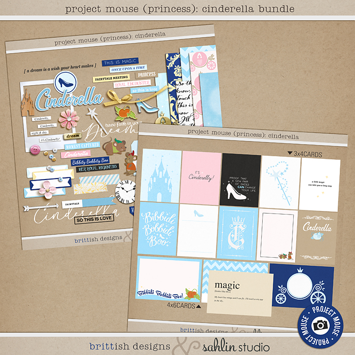 Project Mouse Cinderella BUNDLE